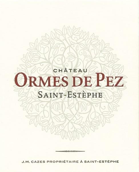 2019 Château Les Ormes de Pez - Saint-Estèphe