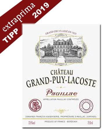 2019 Château Grand Puy Lacoste - Pauillac