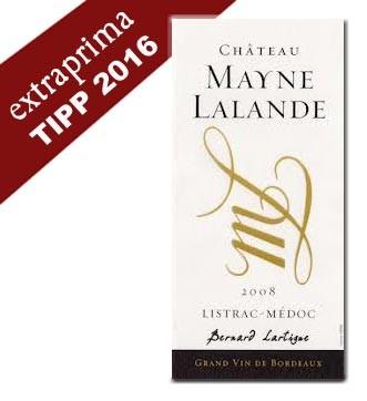 2016 Château Mayne-Lalande - Listrac