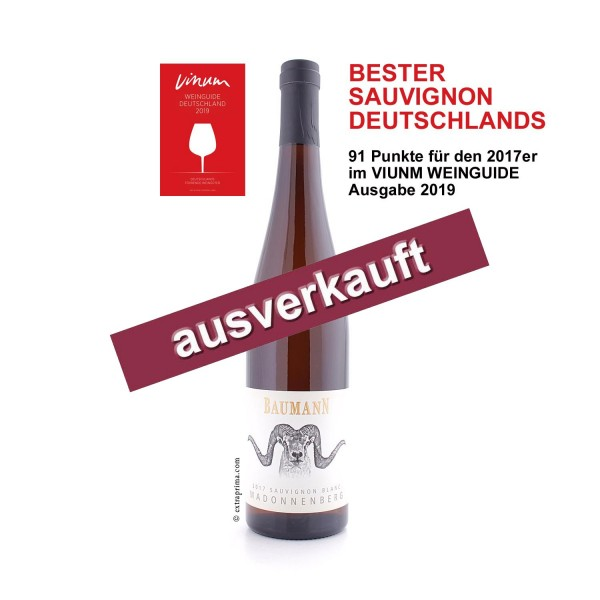 2017 Sauvignon Blanc Madonnenberg