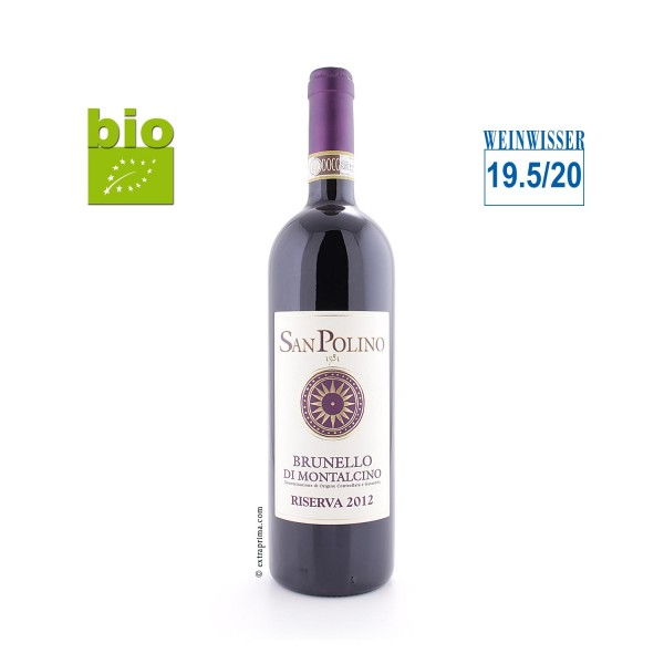 2012 Brunello di Montalcino Riserva - San Polino -bio-