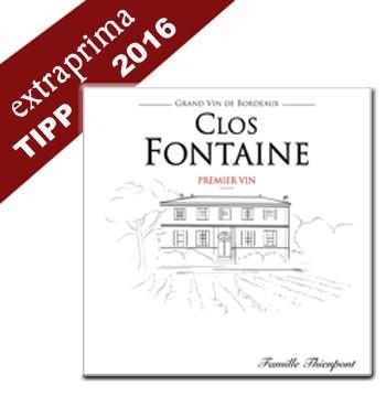 2016 Château Clos Fontaine - Francs