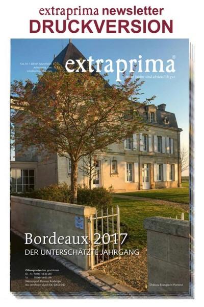 Druckversion newsletter Februar 2019 | BORDEAUX 2017 - unterschätzter Jahrgang