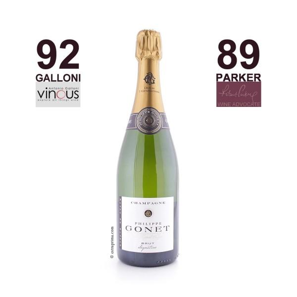 Champagne Brut Blanc de Blancs 'Signature' - Philippe Gonet