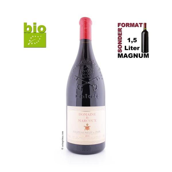 2014 Châteauneuf-du-Pape rouge - Marcoux | 1,5-Ltr. Magnum BIO