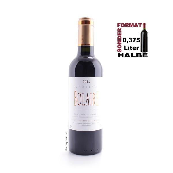 2016 Château Bolaire - Bordeaux Supérieur | Halbe 0,375-Ltr.