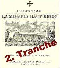 2019 Château La Mission Haut-Brion rouge - Péssac-Léognan