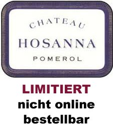 2017 Château Hosanna - Pomerol