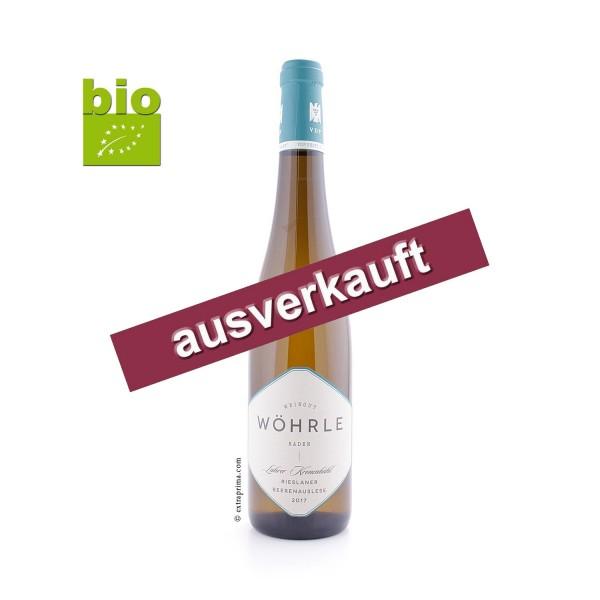 2017 Lahrer Krohnenbühl Rieslaner Beerenauslese - Wöhrle | 500ml -bio-