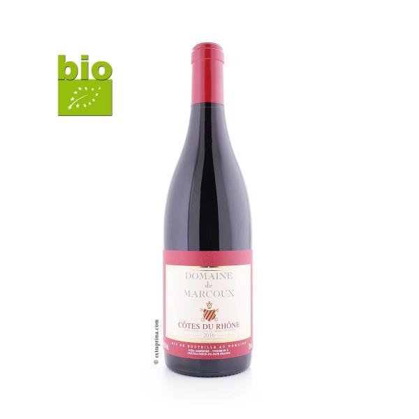 2016 Côtes-du-Rhône rouge - Marcoux BIO
