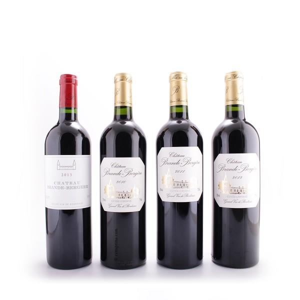 Probierpaket   Bordeaux   Château Brande-Bergère   Je 3 Flaschen der folgenden 4 Weine