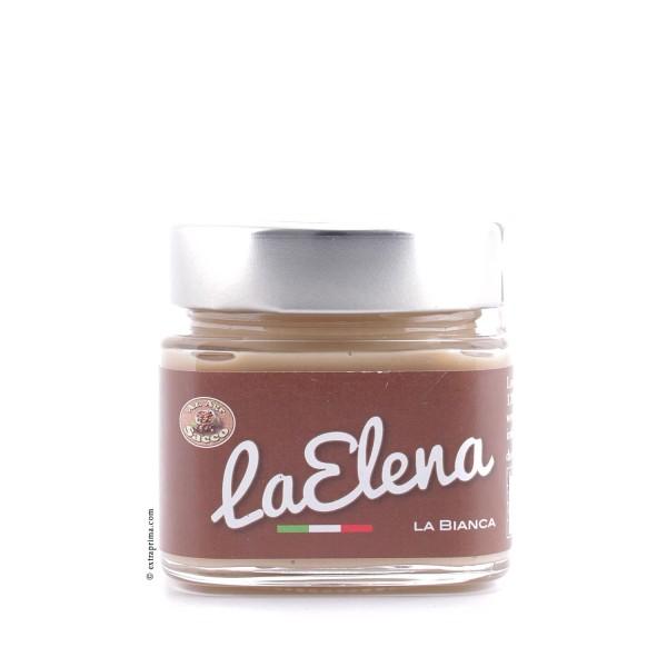 250g Crema Spalmabile La Elena 'Bianca' - Nocciole Sacco