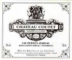 2017 Château Coutet - Barsac