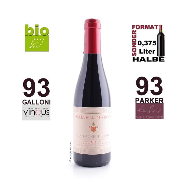 2016 Châteauneuf-du-Pape rouge | Halbe 0,375-Ltr. -bio-