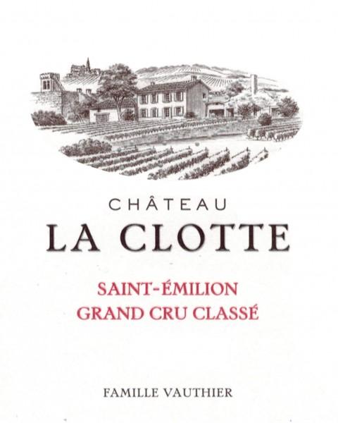 2017 Château La Clotte - St.-Emilion
