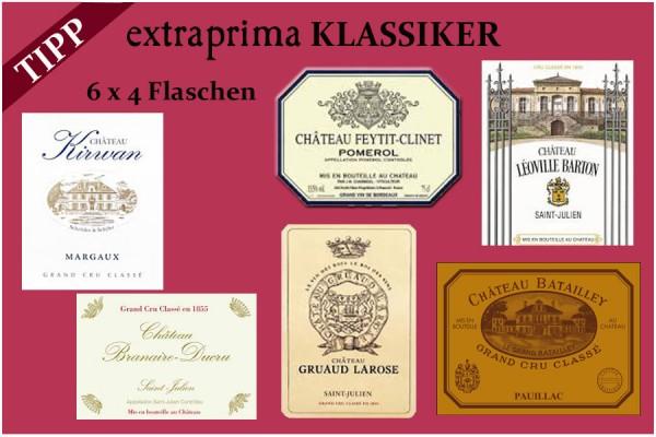 2018 extraprima-Klassiker-Paket | gesamt 24 Flaschen